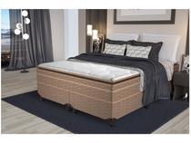 Cama Box King Size (Box + Colchão) Probel - Colchões Mola Ensacadas/Pocket 58cm de Altura