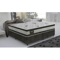 Cama Box King Size Good Like Molas ensacadas e euro Top Duplo - Firme - Gazin - 193X203X73