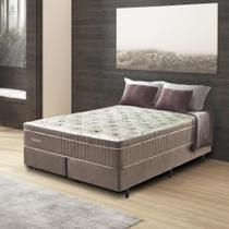 Cama Box King Size New Touch 193x203x59 - Caramelo - Palemax