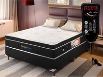 Cama Box Magnético King Size Privilege Dream com massagem Bio Quântica (Colchão + Box) - Golddream