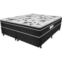Cama Box Queen Born Black - Probel