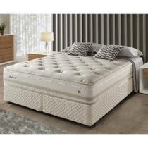 Cama Box Queen Herval Irland, Molas Maxspring, 158 cm -
