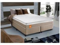 Cama Box Queen Size (Box + Colchão) Celuplás Mola  - Vanille Softgel