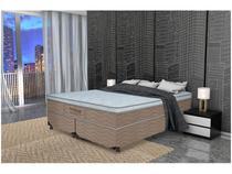 Cama Box Queen Size (Box + Colchão) ProDormir - Molas Ensacadas/Pocket 68cm de Altura Springs Luxo