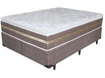 Cama Box Queen Size Box + Colchão Umaflex - Mola Ensacada 33cm de Altura Invictus 158