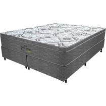 Cama Box Queen Springs Gray - Probel