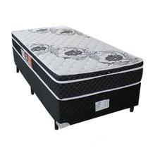 ce602dac4e Cama Box Solteiro Antigo Cosmopolita + Colchão Sempre Firme Solteiro Antigo  D65 Pillow - Espuma -