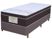 Cama Box Solteiro (Box + Colchão) Gazin - Mola Ensacada 32cm de Altura Rubi