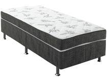 Cama Box Solteiro Conjugado 88x43x188cm - Ortobom Physical Spring Gray