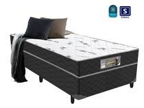 Cama box solteiro mola 88x188x43 - Acolchoes