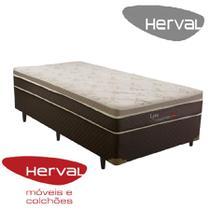 Cama box solteiro mola lyra 88x188x56 herval -