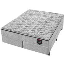 Cama Box Super King Molas Ensacadas Americanflex Duo Black 193x203x66cm