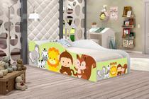 Cama Carro Infantil Safari, Quarto De Criança - Moveis Print