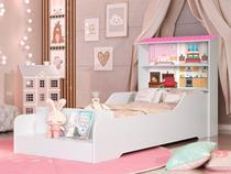 Cama Casa Infantil Princesa com Prateleiras - Loja Tigo