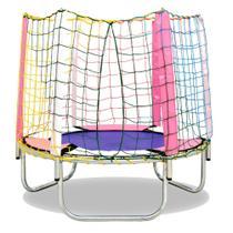 Cama elastica 1,45ø - rosa galv - jundplay -