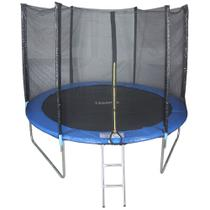 Cama Elastica 3,05m Pula Pula trampolim Premium 305cm tssaper + Escada + Rede -