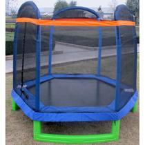 Cama Elástica (Pula-Pula) 2,13 cm com Rede de Segurança e Proteção de Molas - Pelegrin