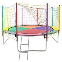 Cama Elástica Pula Pula 4.30M - Colorida - Império Kids Brinquedos