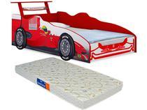 Cama Infantil Carro Formula 1 com Colchão Solteiro - Loja Tigo