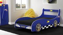 Cama Infantil Carro Gelius Rally Azul -