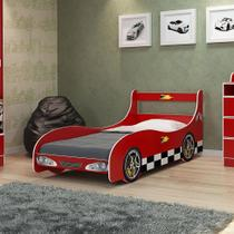 Cama Infantil Carro Rally Vermelho - Gelius móveis