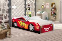 Cama Infantil Carro Speed Vermelho, Quarto Infantil - Moveis Print