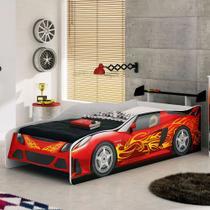 Cama Infantil Carros Sport Car Móveis Estrela - Móveis Estrela Baby