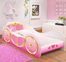 Cama Infantil Carruagem 150x70 cm - Princesa Unicórnio - RPM Móveis -
