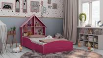 Cama Infantil Casinha Pink Ploc - Gelius -