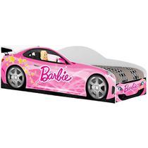 Cama Infantil Juvenil Barbie Carro Cor Rosa - Estrela Móveis