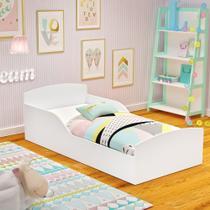 Cama Infantil Montessoriana Sonho - Branca  - RPM Móveis -