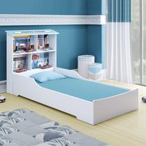 Cama Juvenil Mimus Tigus Baby Branco/Azul -