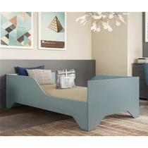 Cama Juvenil/Solteiro MDF Sonho FLEX Azul Premium Multimóveis para colchão 188 x 88 cm REF.2762.158 -