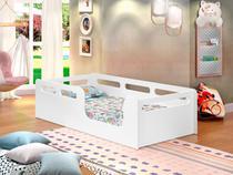 Cama montessoriana juvenil branco - Casa E Bebê Shop