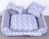 Cama Pet Colorê Azul Tamanho M - Decoralle