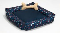 Cama Pet Simples Grande Azul - Comfortpet