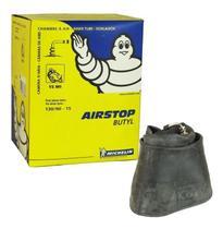 Câmara de Ar Michelin Pneu 130/90-15 15MI Válvula Bico 90º -