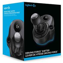 Câmbio Logitech G Driving Force - Compatível com Volantes Logitech G29 e G920 para PS4, Xbox One e PC - 941-000119 -