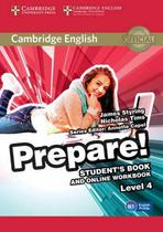 Cambridge english prepare! 4 sb with online wb - 1st ed - Cambridge university