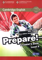 Cambridge english prepare! 5 sb - 1st ed - Cambridge university