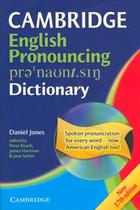 Cambridge english pronouncing dictionary with cd-rom - Cambridge university