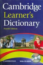 Cambridge learners dictionary with cd-rom - 4th ed - Cambridge university