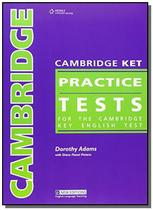Cambridge practice tests - ket - student book - Cengage -