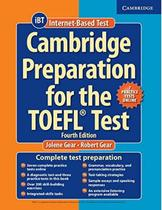 Cambridge preparation toefl test sb with online practice tests and audio cds (8) pack - 4th edition - Cambridge university