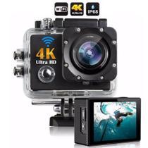 Câmera 4k Ultra HD Pro FullHd  Wi-fi 30fps e 60fps Grave Vídeos Incríveis -