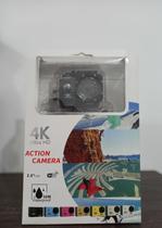 Câmera Action 4k Ultra com WI-FI a Prova D'Água ( Preta) - Action Camera