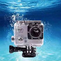 Camera Action Esporte 1080p Full Hd Moto Vlog Capacete Mergulho Trilha - Sportcam hd