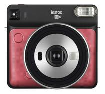 Câmera Analógica Instantânea Fujifilm Instax Square Sq6 - Ruby Red -