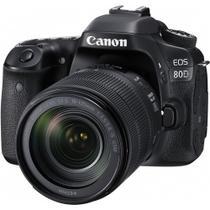 Câmera Canon 80D Kit 18-135mm f/3.5-5.6 IS USM -