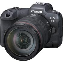 Câmera Canon Eos R5 8k 45mp Com 24-105mm F/4l -